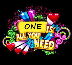 1 Is All You Need