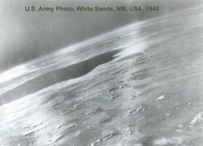 1st Spherical Earth Photo, 1946
