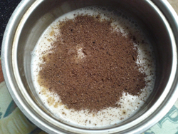 Cacao With Almond Milk
