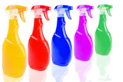 Colored Spray Bottle
