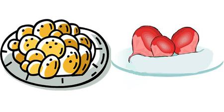 Cookies vs. Radishes