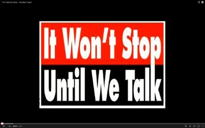 It Won't Stop Until We Talk