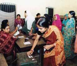Voting Women