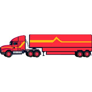 Yellow Streak Truck