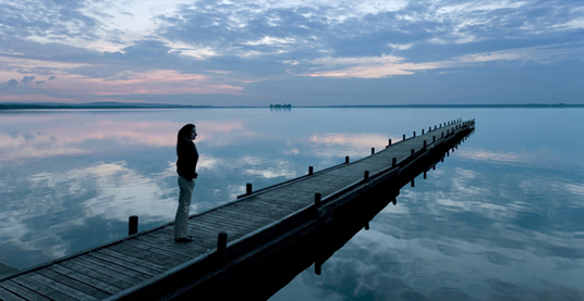 Pier Meditation